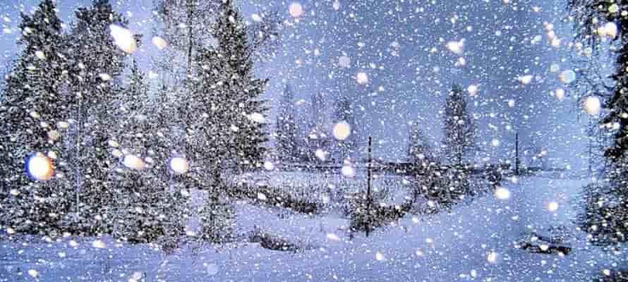 сочинение снегопад
