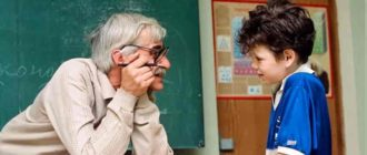 Сочинение про учителя