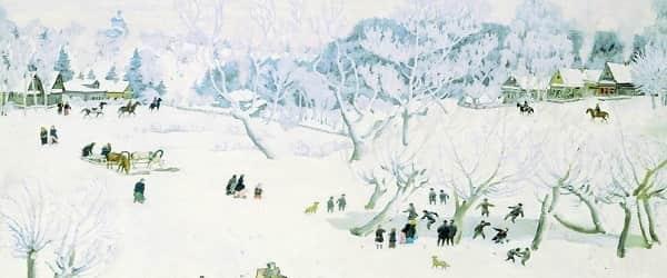 Волшебница-зима